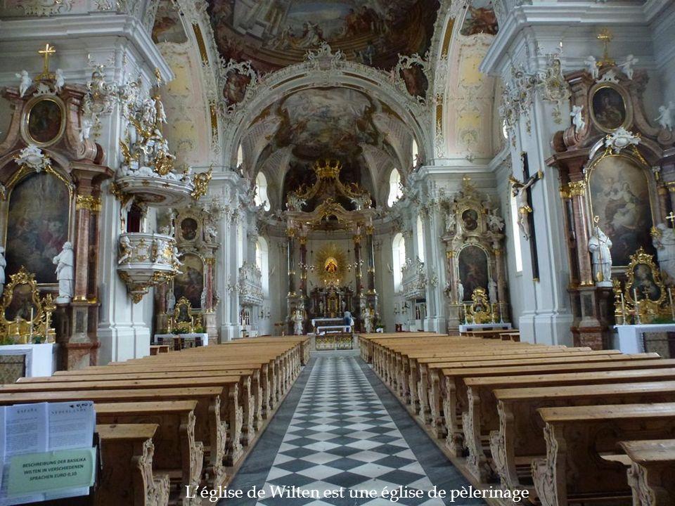 L'église de Wilten est une église de pèlerinage