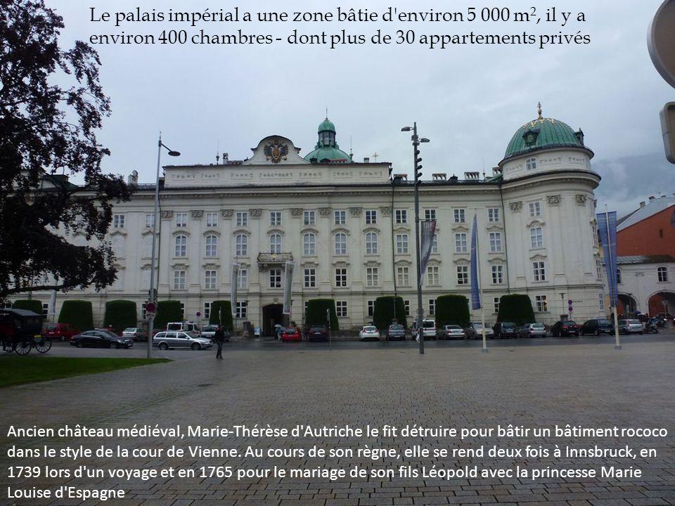Le palais impérial a une zone bâtie d'environ 5 000 m 2, il y a environ 400 chambres - dont plus de 30 appartements privés Ancien château médiéval, Ma