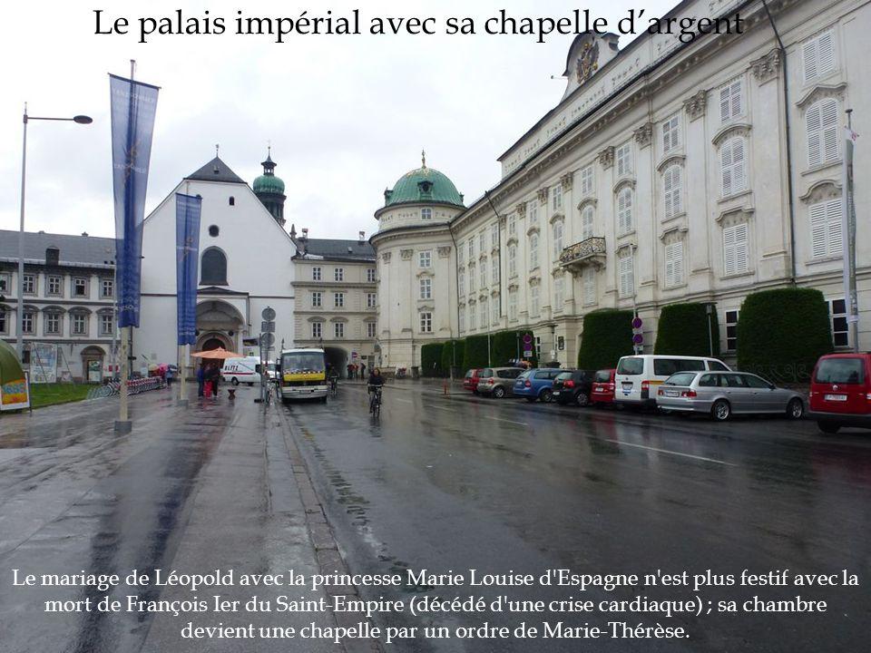 Le mariage de Léopold avec la princesse Marie Louise d'Espagne n'est plus festif avec la mort de François Ier du Saint-Empire (décédé d'une crise card
