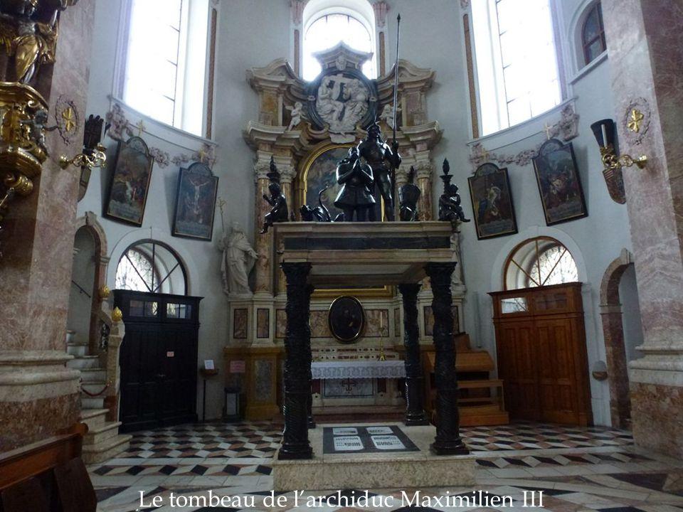 Le tombeau de l'archiduc Maximilien III
