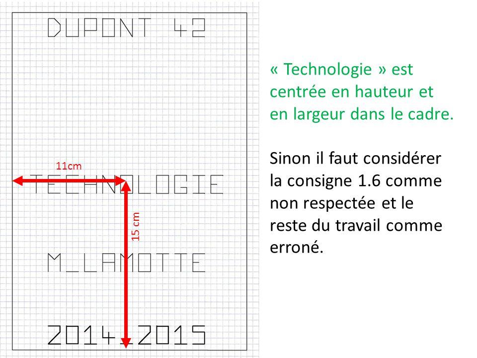« M-Lamotte » est centrée en hauteur et en largeur enter « technologie » et « 2014 - 2015 ».