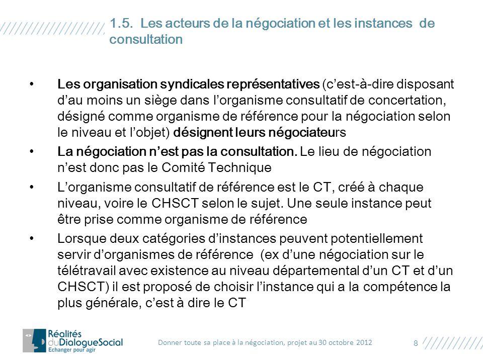 Objectif : développer une véritable culture de la négociation entre employeurs publics et syndicats selon les cultures et traditions qui leur sont propres.