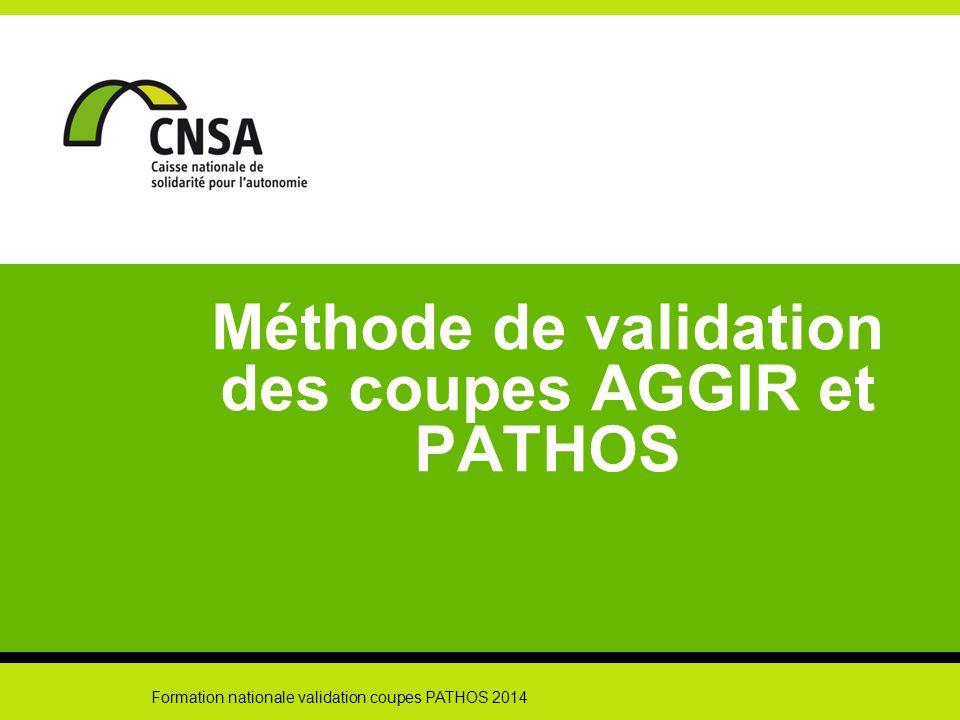 Formation nationale validation coupes PATHOS 2014 12 Etape 6 : validation sur site (suite) En cas d'accord sur le codage proposé, le dossier est validé en l'état.