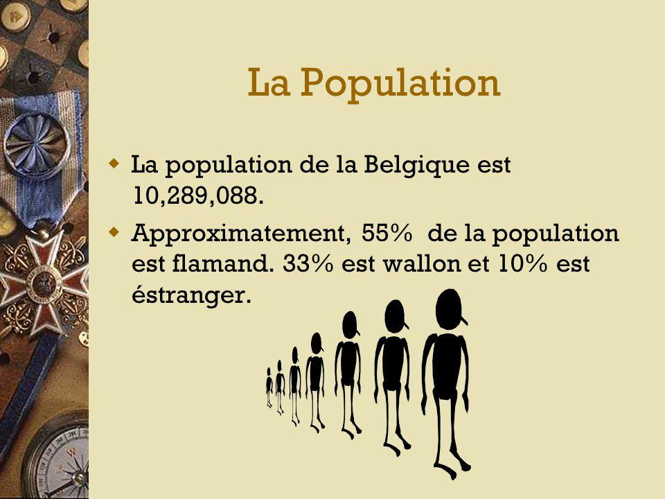 L'Emplacement  Elle se trouve dans l'ouest de l'Europe.  Elle est à côte de la France, l'Allemagne, le Luxembourg et les Pays-Bas.