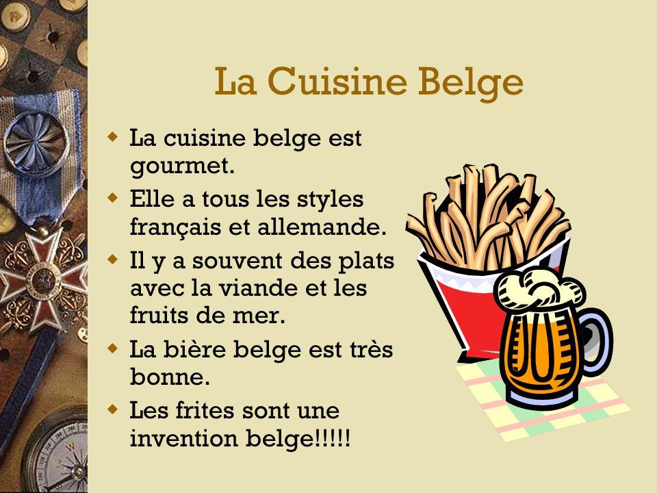 Les Langues  Les langues de la Belgique sont flamand, français, et allemande.