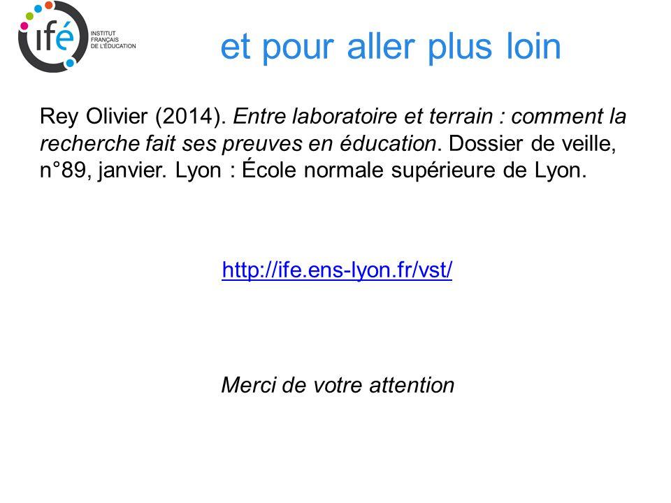 et pour aller plus loin Rey Olivier (2014).