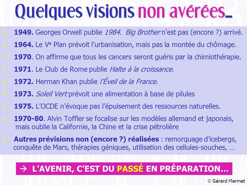 4 1949. Georges Orwell publie 1984. Big Brother n'est pas (encore ) arrivé.