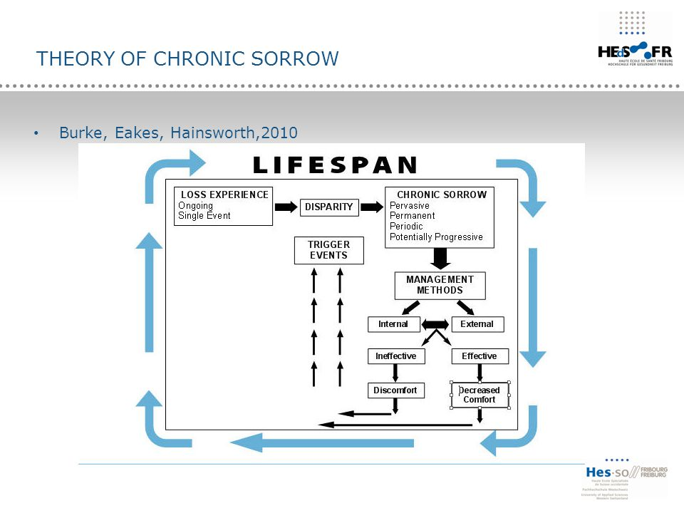 THEORY OF CHRONIC SORROW Burke, Eakes, Hainsworth,2010