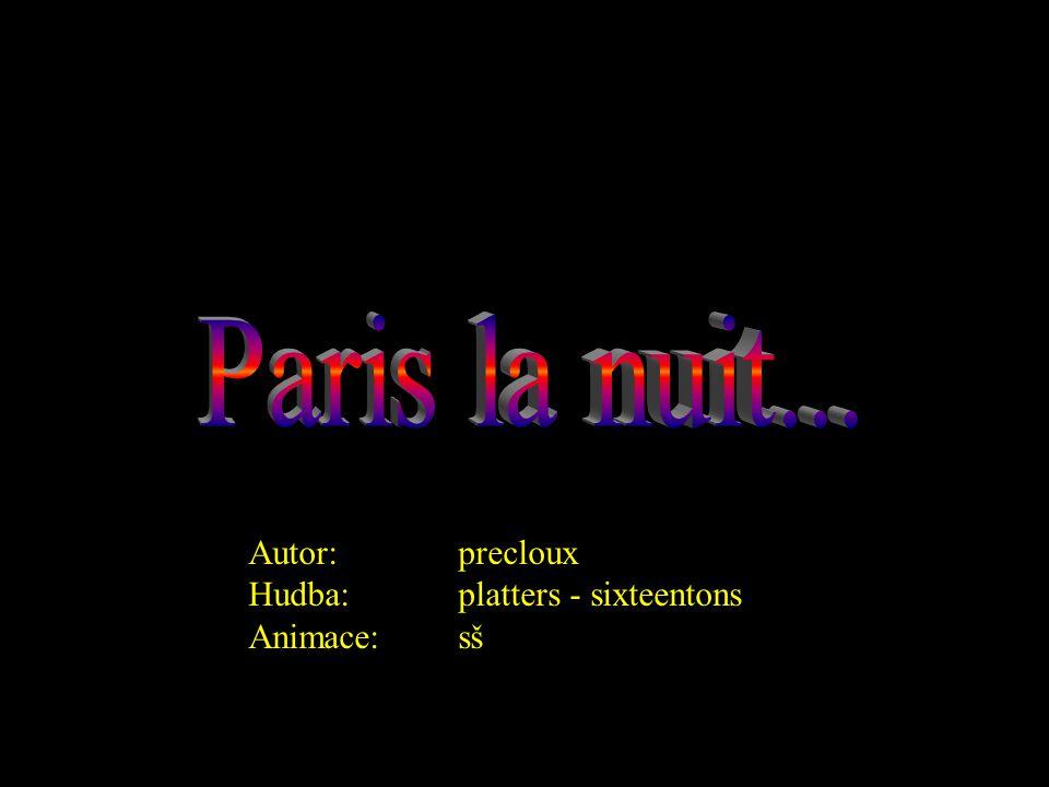 Autor:precloux Hudba:platters - sixteentons Animace:sš