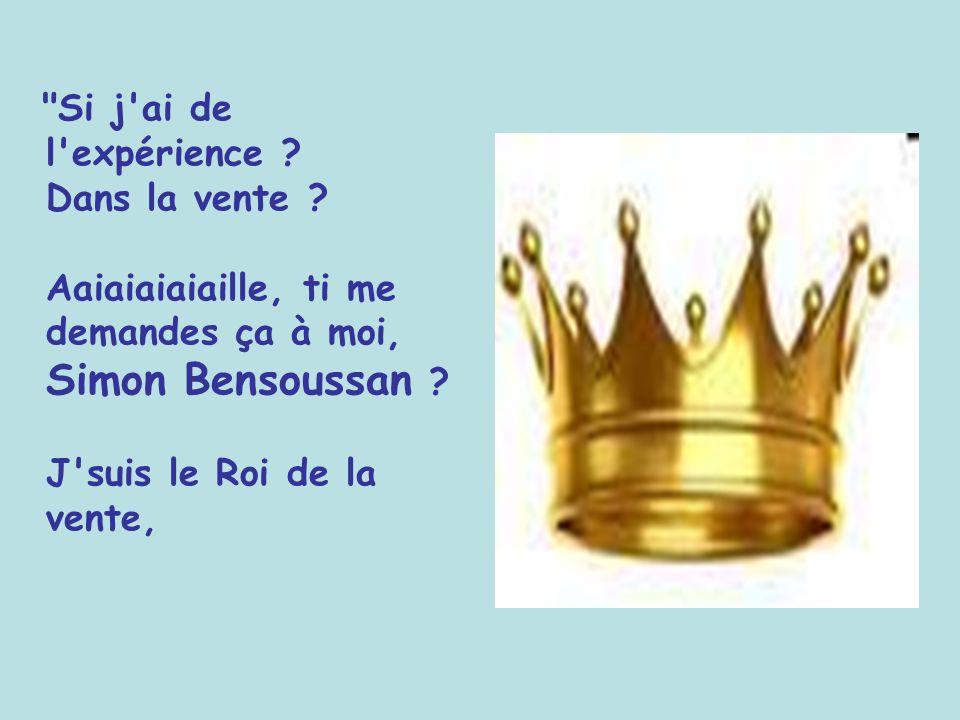 Diaporama PPS réalisé pour http://www.diaporamas-a-la-con.com http://www.diaporamas-a-la-con.com Simon Bensoussan se présente, pour un emploi, de vend