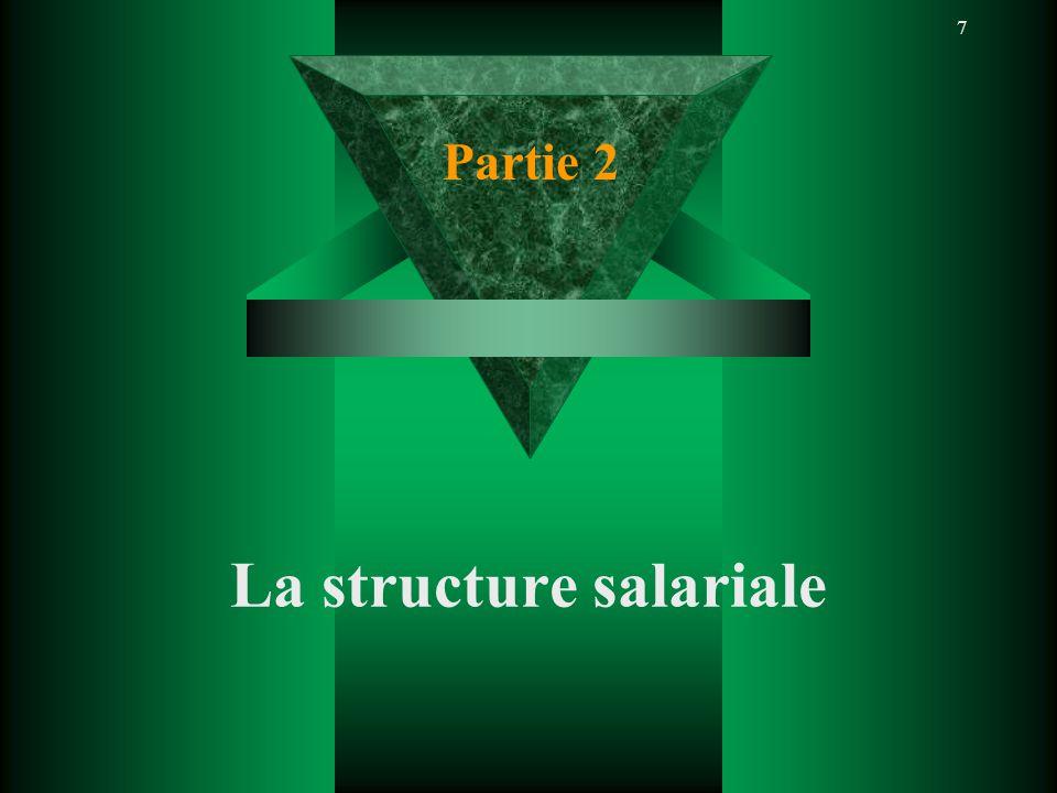 7 La structure salariale Partie 2