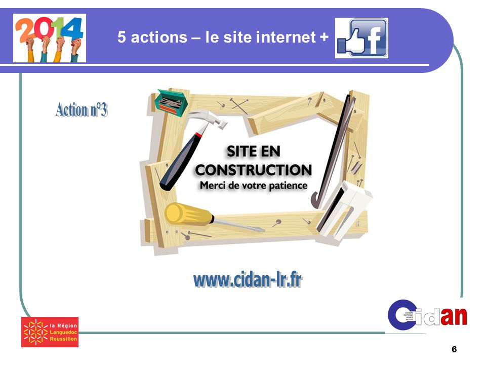 6 5 actions – le site internet +