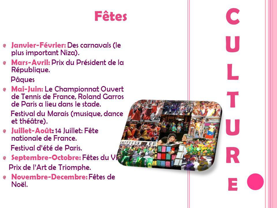 Fêtes Janvier-Février: Des carnavals (le plus important Niza). Mars-Avril: Prix du Président de la République. Pâques Mai-Juin: Le Championnat Ouvert