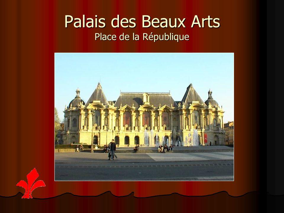 Palais des Beaux Arts Place de la République