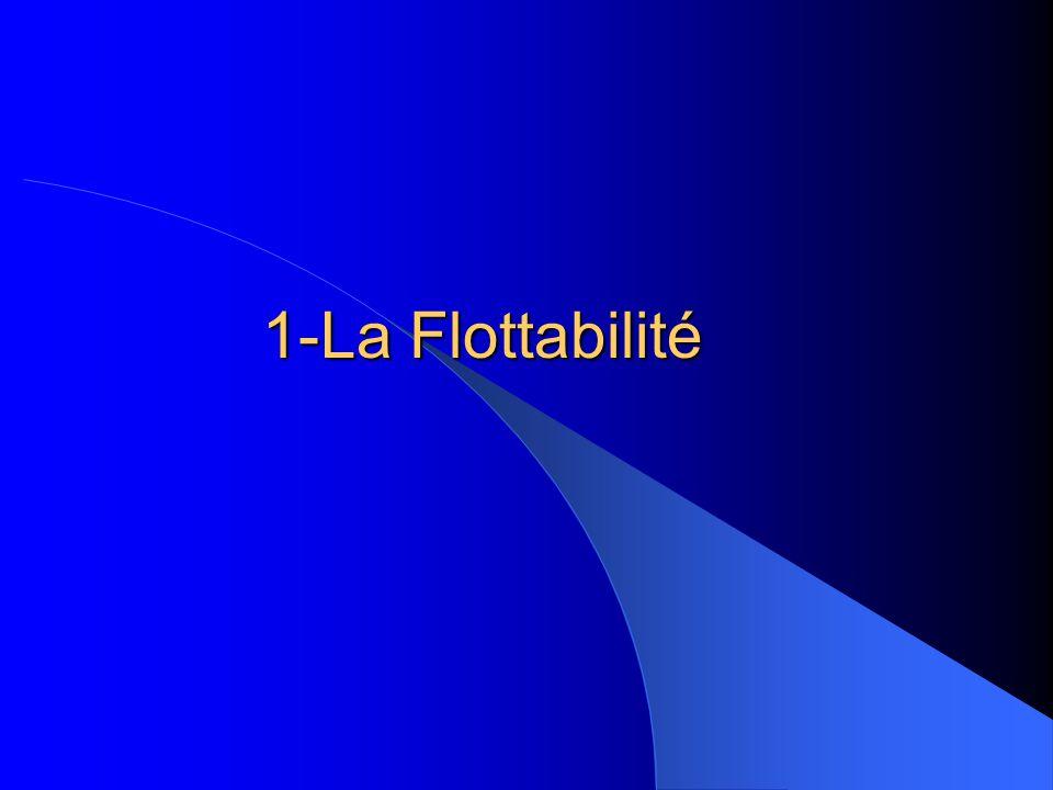 1-La Flottabilité