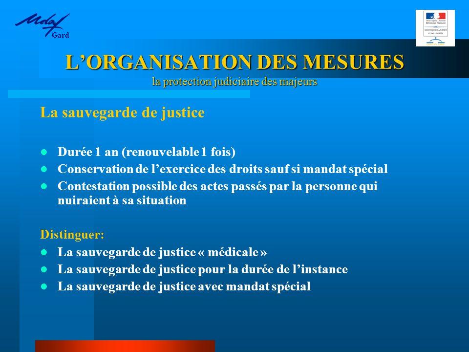 PROTECTION DE LA PERSONNE : UNE CONSECRATION LEGALE Principe (art 459 CC) : « le majeur prend seul les décisions relatives à sa personne dans la mesure où son état le permet ».