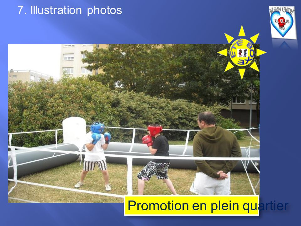 7. Illustration photos Promotion en plein quartier