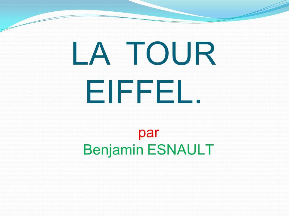 Qui a construit la tour Eiffel .Gustave Eiffel a construit la tour Eiffel.