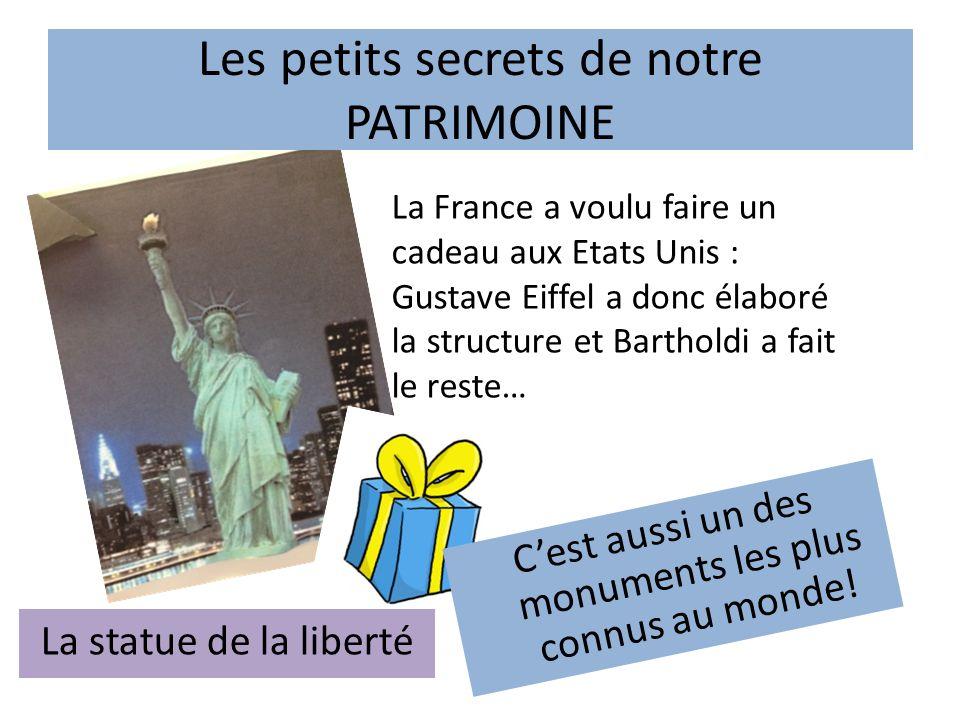 Les petits secrets de notre PATRIMOINE L'incroyable Tour Eiffel.
