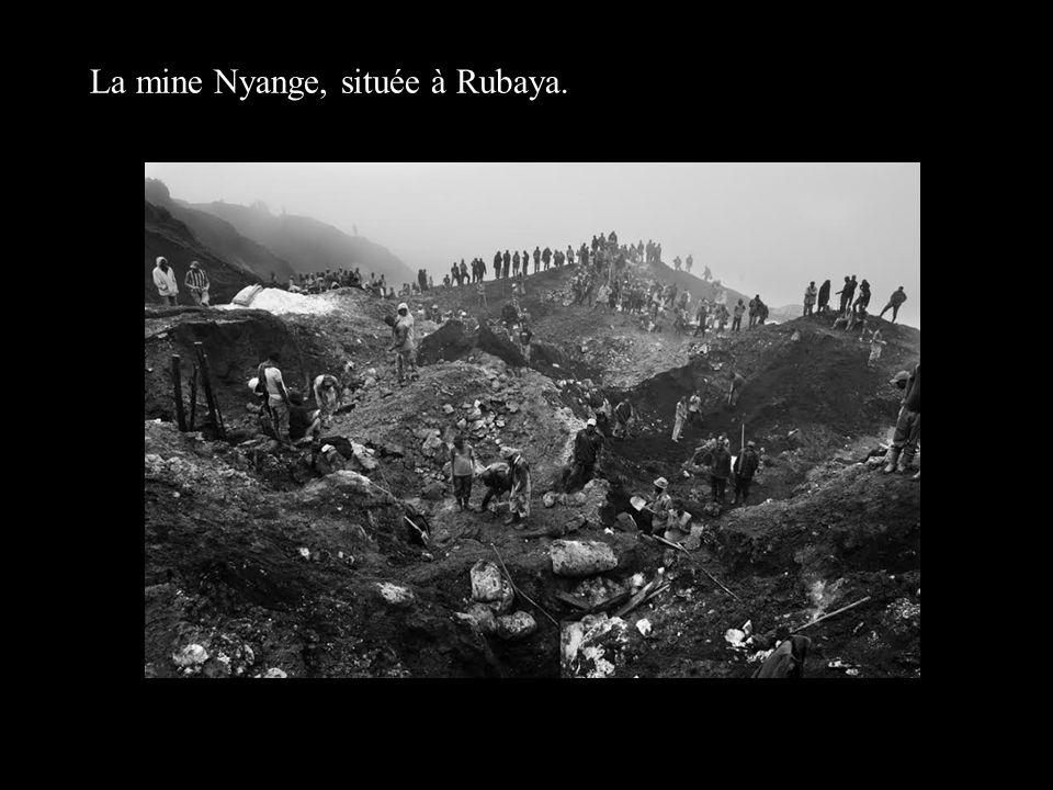 La mine Nyange, située à Rubaya.