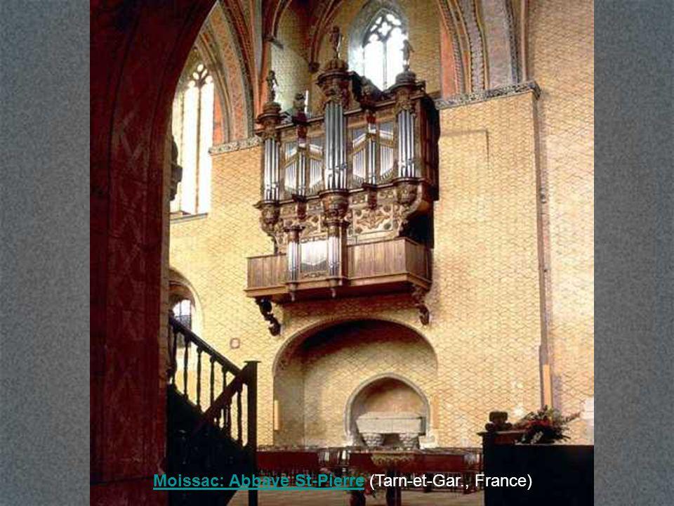 Moissac: Abbaye St-PierreMoissac: Abbaye St-Pierre (Tarn-et-Gar., France)