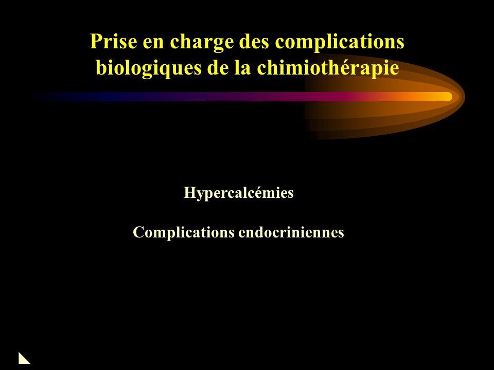 Prise en charge des complications biologiques de la chimiothérapie Mitomycine -C  Toxicité vasculaire > rénale Microangiopathie Thrombotique (MAT) Thrombop énie HTA Anémie hémolytique AVC transitoire