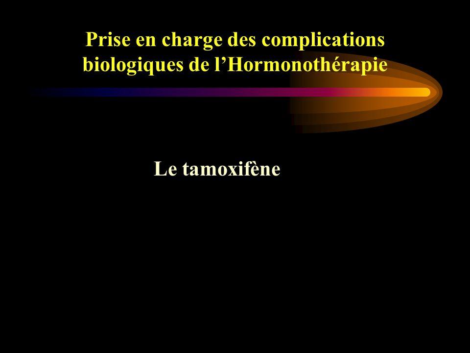 Prise en charge des complications biologiques de l'Hormonothérapie Jean Paul Guastalla Centre Léon Bérard, Lyon CANCER DU SEIN effets secondaires des traitements adjuvants