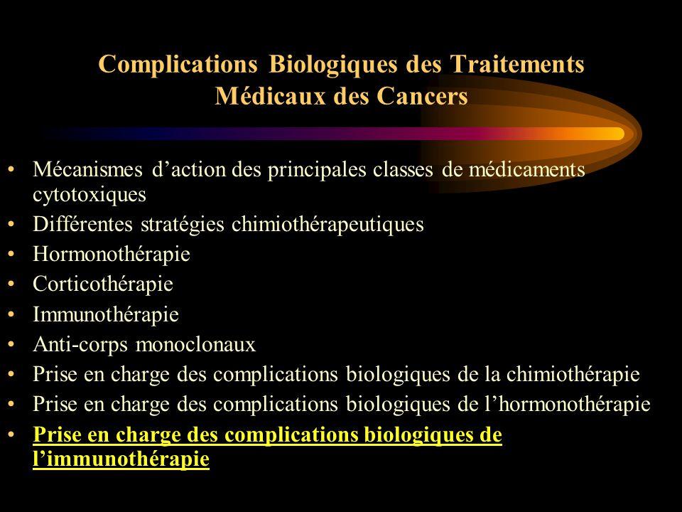 Conclusion sur l'hormonothérapie  Tamoxifène pré-ménopause –moins de : thromboses, AVC, cancer endomètre, bouffées de chaleur –plus de : kystes ovariens, irrégularité menstruelle, retentissement sexuel Anastrozole : mieux toléré que Tam sauf os et muscles Agonistes de LHRH :castration transitoire, réversible Agonistes + Tam : corrections de certains effets du Tam mais données encore parcellaires Agonistes + anti-aromatases ?