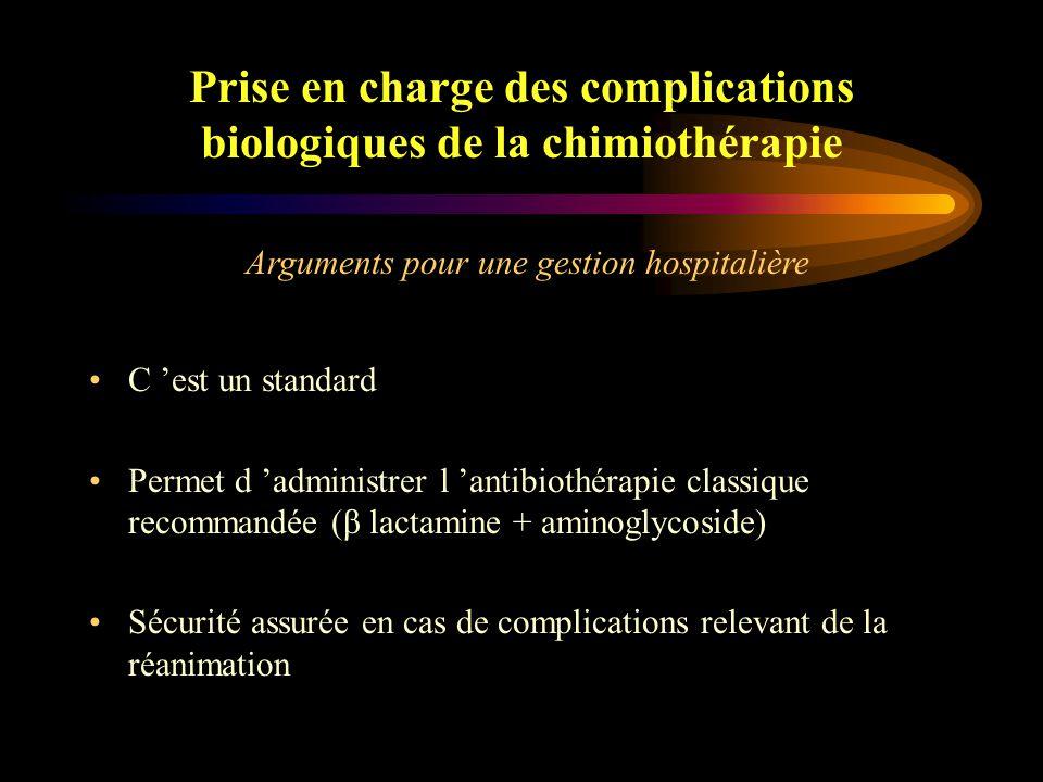 Gestion hospitalière Ou Gestion ambulatoire .