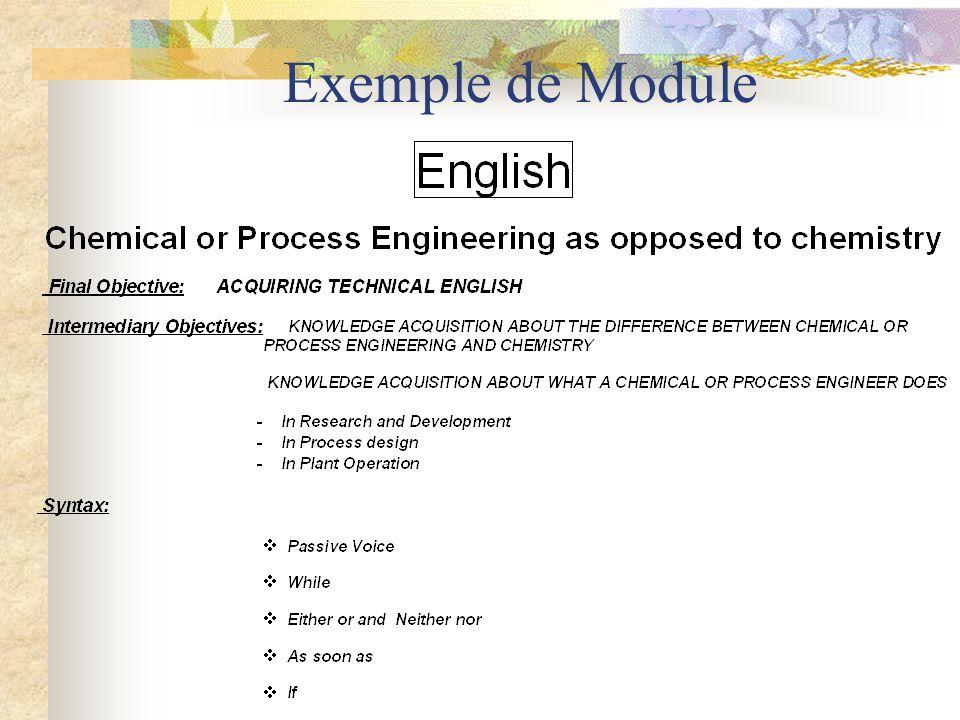 Programme DUT Reprise de certains descripteurs du Cadre apparentés à ceux de nos modules (col.