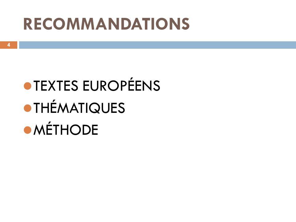 FSE : méthode et outils 15 Un document en 18 questions pour évaluer le projet.