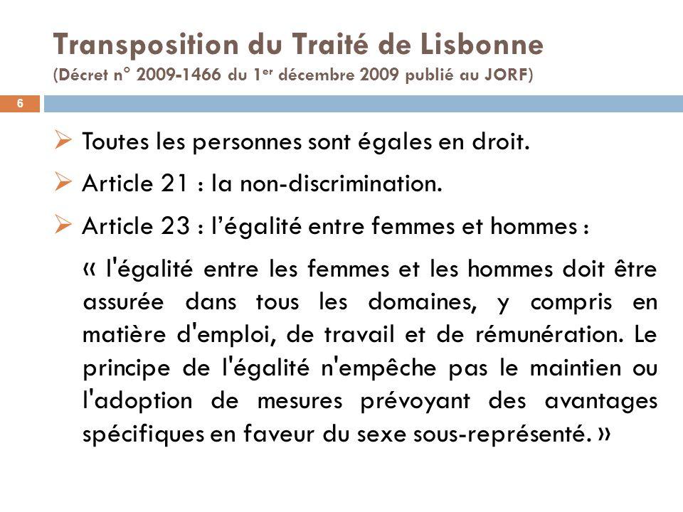 Les six thématiques prioritaires de la Feuille de route de la Commission 7 1.