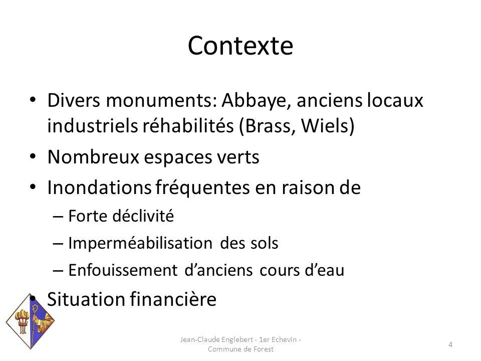 Contexte Jean-Claude Englebert - 1er Echevin - Commune de Forest 5