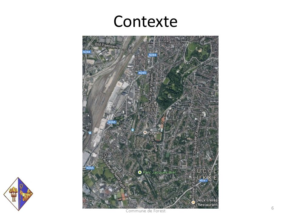 Contexte Jean-Claude Englebert - 1er Echevin - Commune de Forest 7