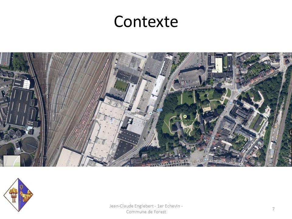 Sous la responsabilité communale Jean-Claude Englebert - 1er Echevin - Commune de Forest 8 Parcs: Duden (donation Royale – Bruxelles- Environnement) Jupiter Parc de Forest Abbaye Jacques Brel Bempt Marconi