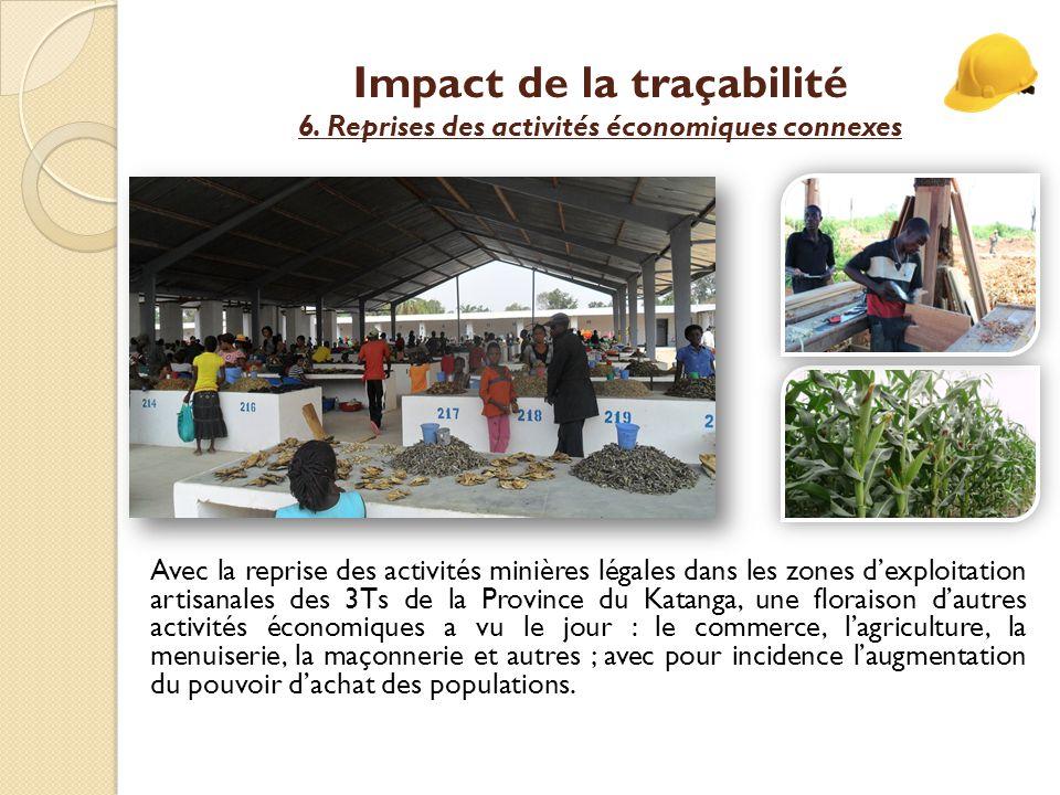 Impact de la traçabilité 6.