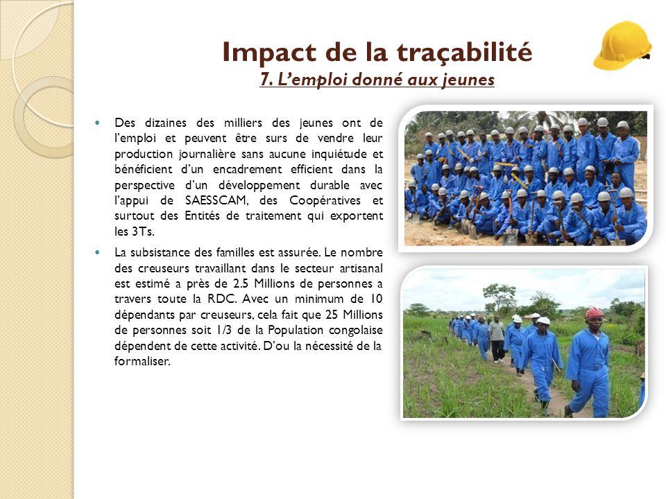 Impact de la traçabilité 7.
