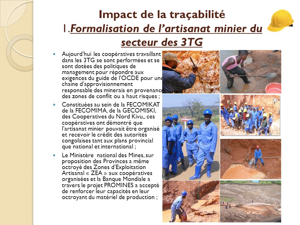 Le Katanga, un success story Merci – Aksanti – Thank You