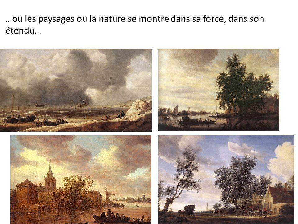 …ou les paysages où la nature se montre dans sa force, dans son étendu…
