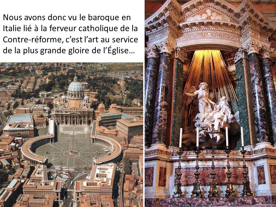 Cela est aussi vrai pour d'autres pays catholiques, comme l'Espagne et les Flandres… Flandres: Rubens, Érection de la croix, 1610 Espagne, Zurbaran, Saint Serapion, 1628