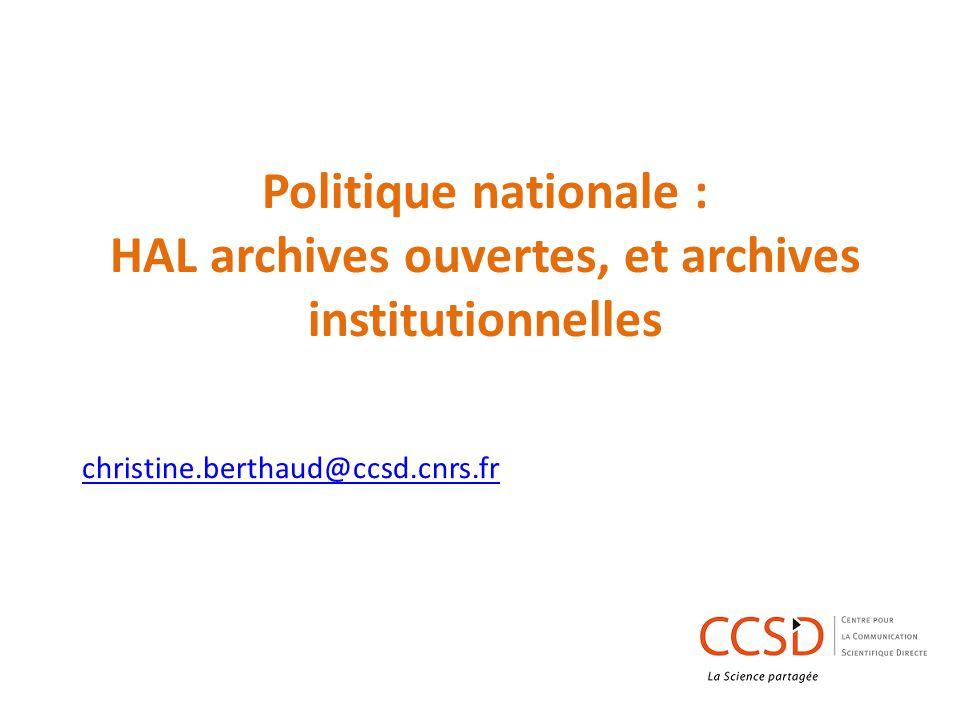 Le CST Il conseille, il est consulté sur les projets,, il fixe et planifie les évolutions de HAL et des services afférents, établit les cahiers des charges, étudie les évolutions des protocoles internationaux et l état de l art en matière d archives ouvertes pour leurs mises en œuvre.