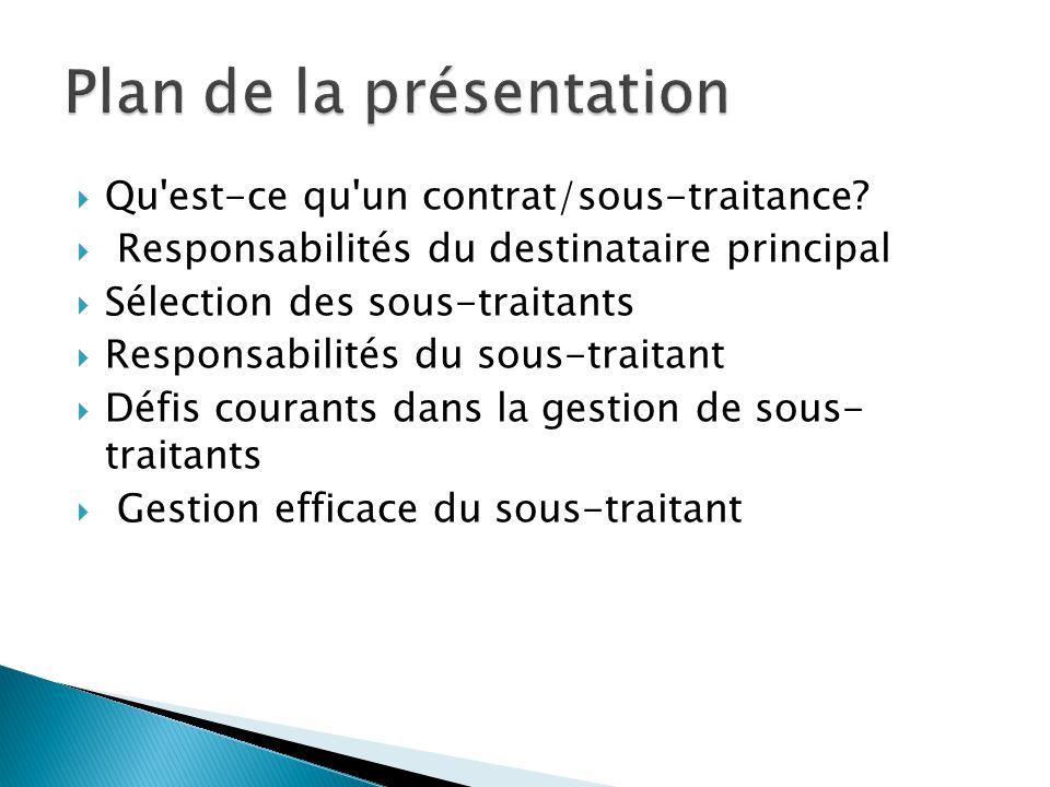  Contrat Un contrat est un accord conclu entre deux ou plusieurs parties et créant l obligation d accomplir une tâche spécifique
