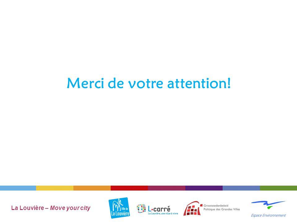 Merci de votre attention! La Louvière – Move your city