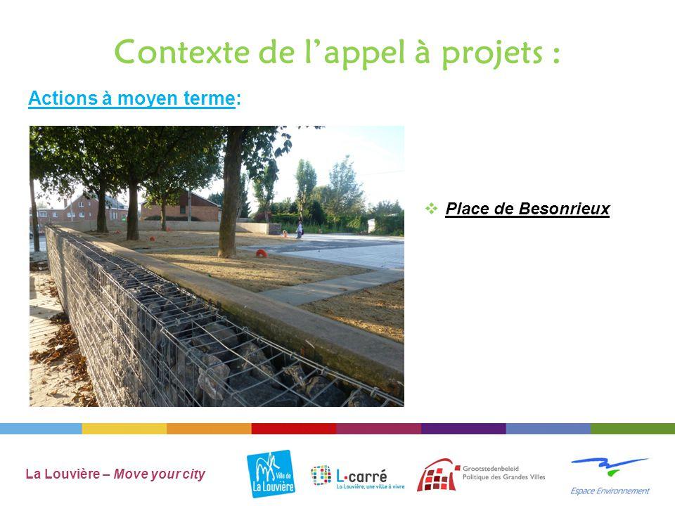 Contexte de l'appel à projets :  Place du Souvenir et d'Aimeries