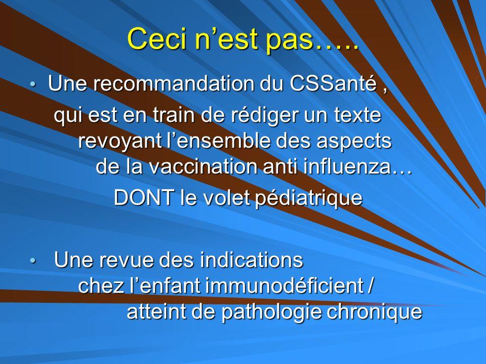 Quel taux de vaccination atteindre pour impact .