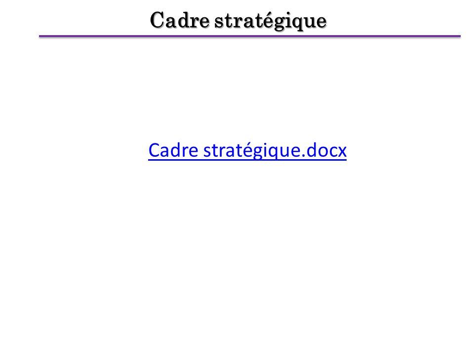Cadre stratégique Cadre stratégique.docx