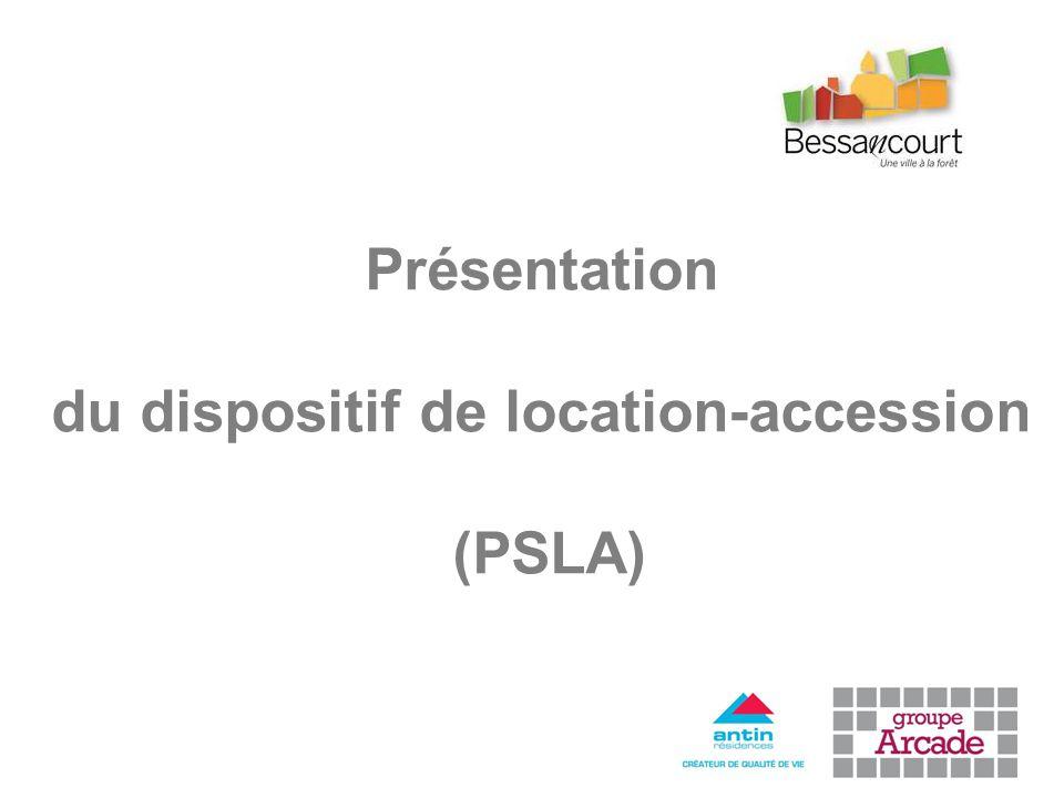 Présentation du dispositif de location-accession (PSLA)