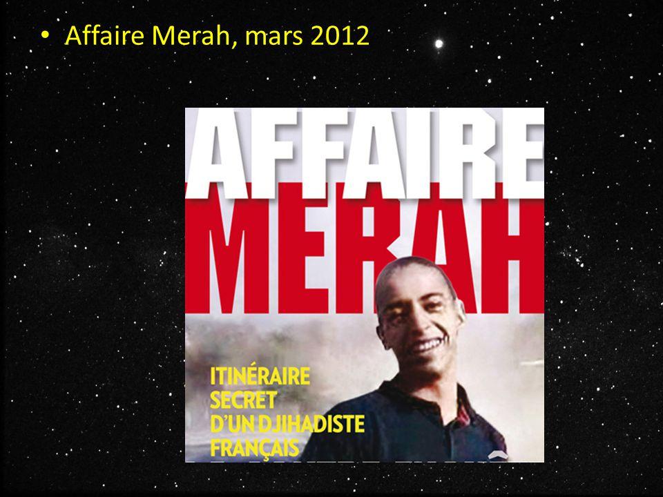 Affaire Merah, mars 2012