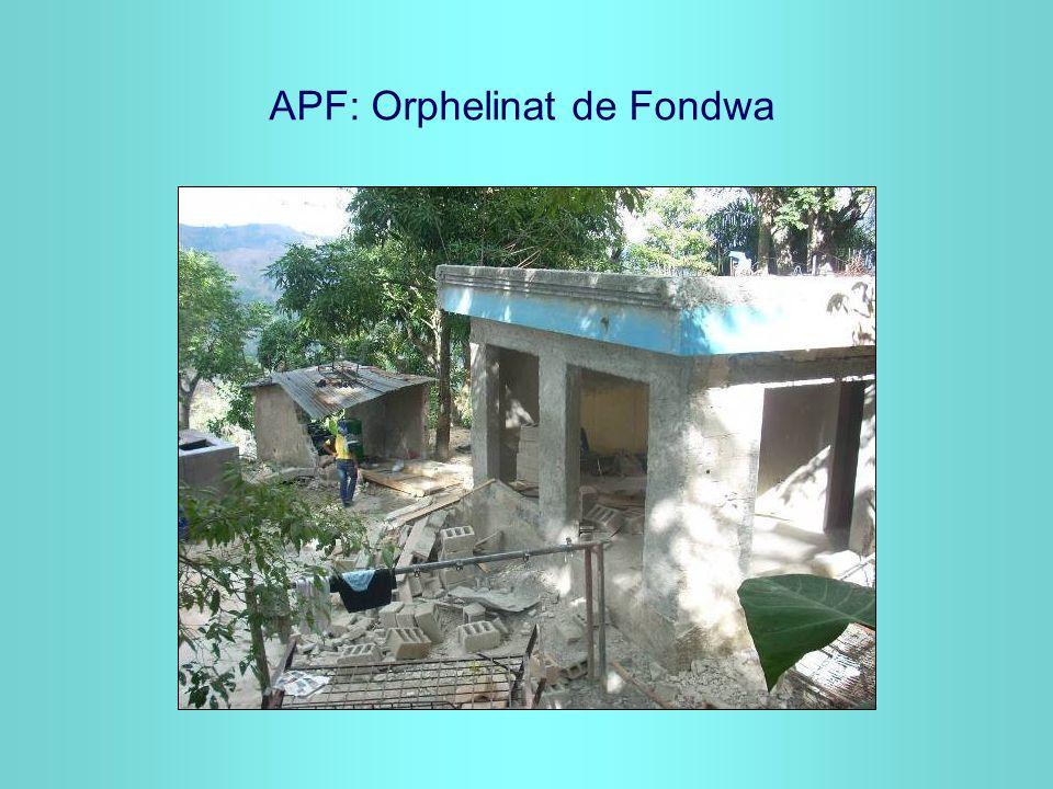 APF: Orphelinat de Fondwa