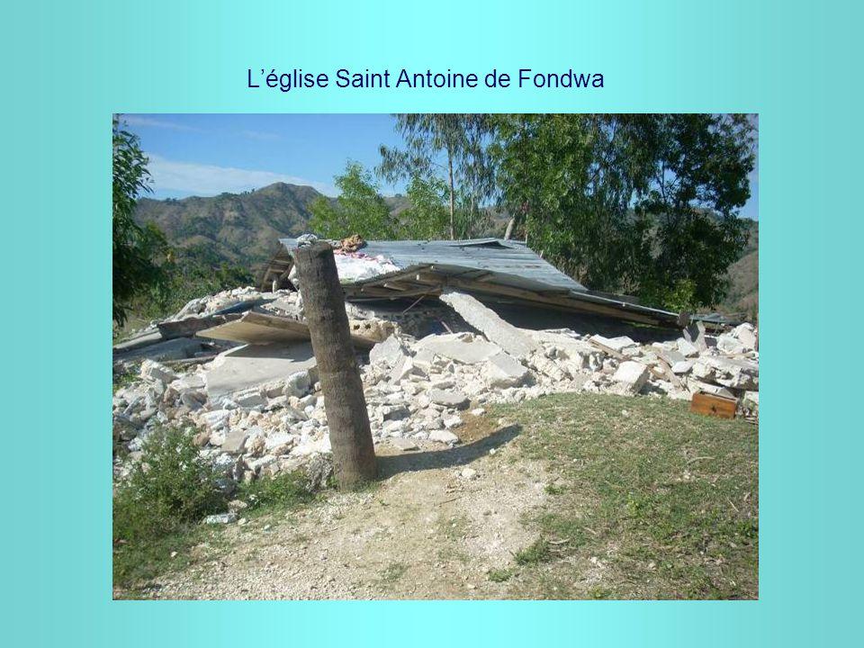 L'église Saint Antoine de Fondwa